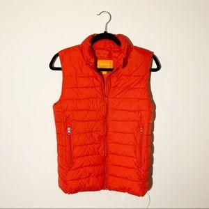 JOE FRESH Red Pack Away Puffer Vest